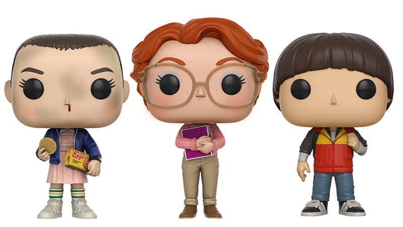 Stranger Things Funk Pop Figures